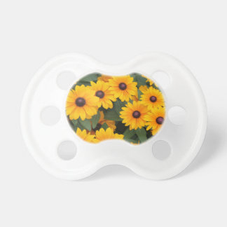 Field of yellow daisies pacifier