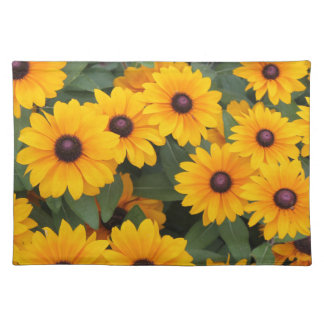 Field of yellow daisies placemat