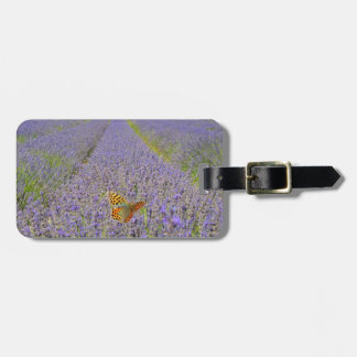 Field off lavender - Field of lavender Luggage Tag