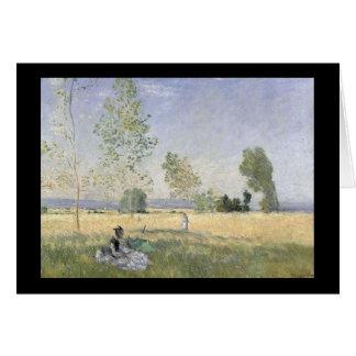 Field Picnic - Monet Card