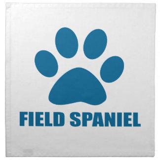 FIELD SPANIEL DOG DESIGNS NAPKIN
