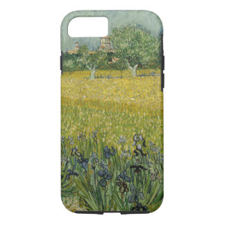 Field with flowers near Arles iPhone 7 Case