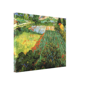 Field with Poppies by Vincent van Gogh Canvas Print