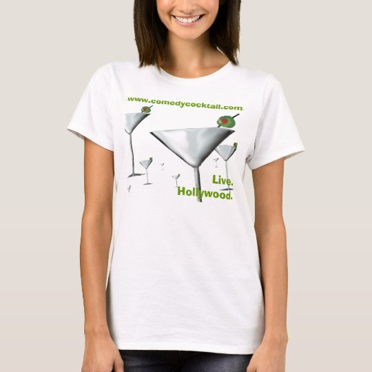 FieldMartinis--website-live-hollywd--spaghetti str T-Shirt