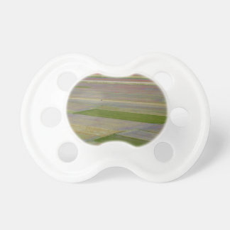 Fields in the Sibellini Mountains in Italy Baby Pacifiers