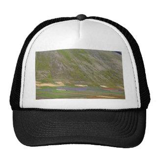 Fields in the Sibellini Mountains in Italy Trucker Hat