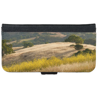 Fields of Elysium in Calero California iPhone 6 Wallet Case
