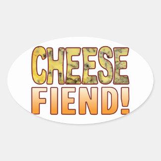Fiend Blue Cheese Oval Sticker