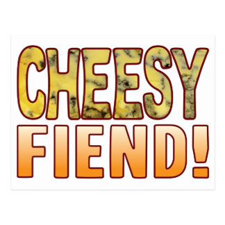 Fiend Blue Cheesy Postcard