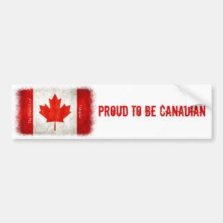 Fier d'être canadien - adhésif pour pare-chocs de  autocollant de voiture