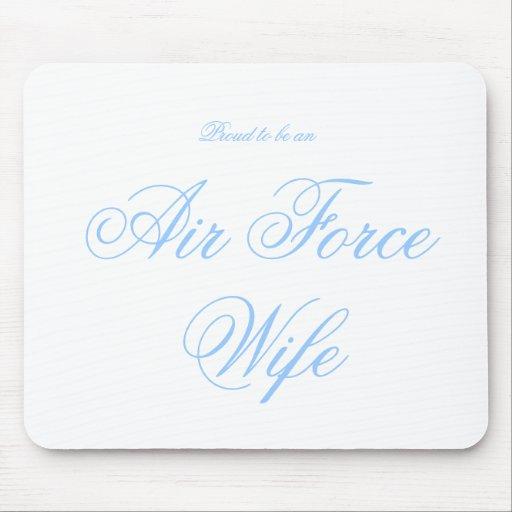 Fier d'être, l'Armée de l'Air, épouse Tapis De Souris