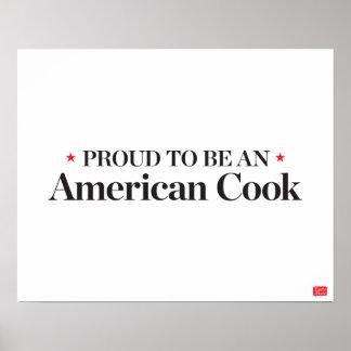 Fier d'être un cuisinier américain