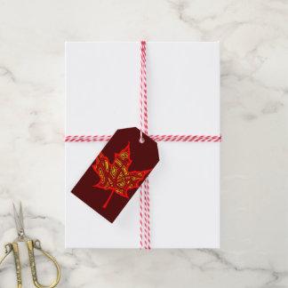 Fier Leaf Gift Tags