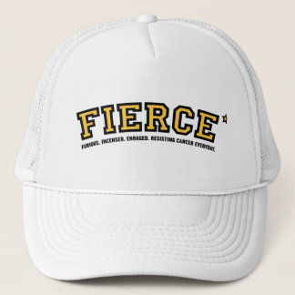 Fierce Against Cancer Trucker Hat