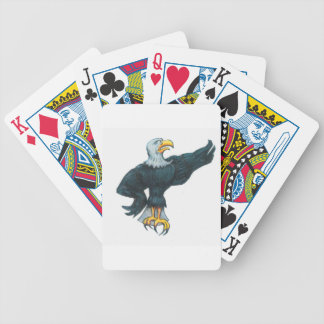 Fierce American Eagle Bicycle Playing Cards