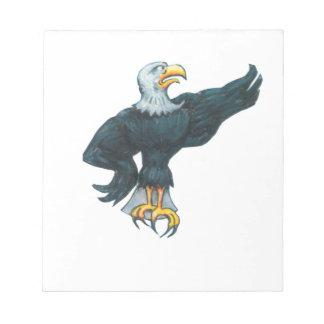 Fierce American Eagle Notepads