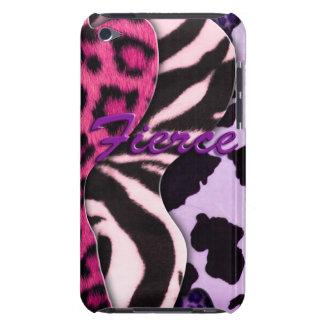 Fierce Animal Print iPod Case-Mate Cases
