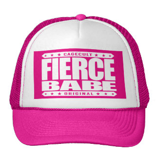 FIERCE BABE - Fearless In Love, Life and Business Trucker Hat