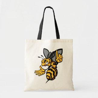 Fierce Bee Tote Bag
