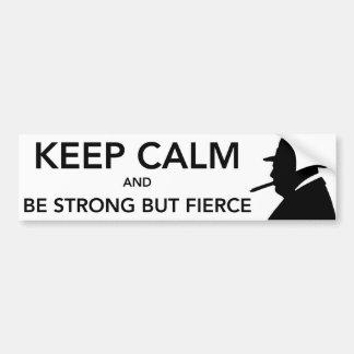Fierce Bumper Sticker