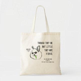 Fierce Bunny w/ Quote