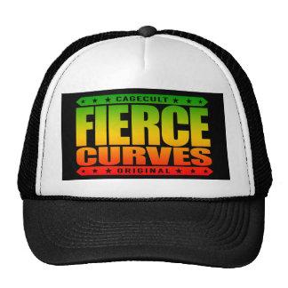 FIERCE CURVES - Body of Fearless Amazon Warrior Trucker Hat