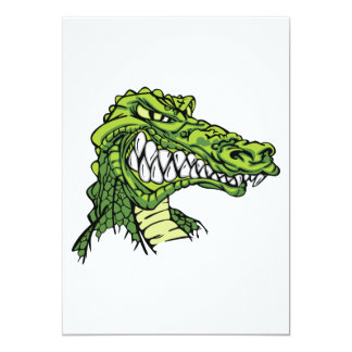 Fierce Gator Invitations