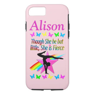 FIERCE GYMNAST PERSONALIZED IPHONE CASE