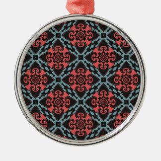 Fierce Heart Tribal Metal Ornament