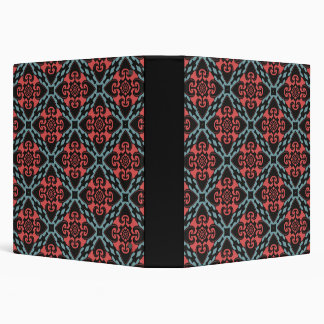 Fierce Heart Tribal Vinyl Binder