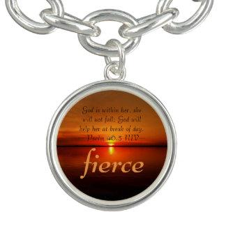 Fierce Intention with scripture Bracelets