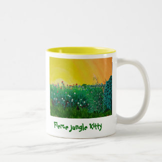 Fierce Jungle Kitty Mug