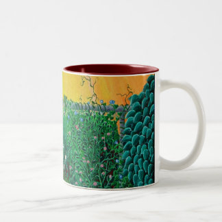 fierce jungle kitty mug new