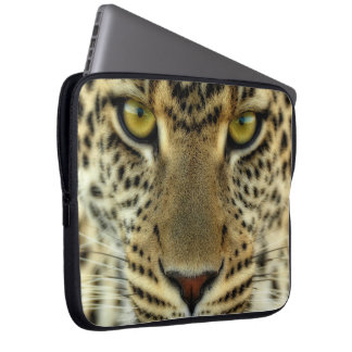 Fierce Leopard Laptop Sleeve