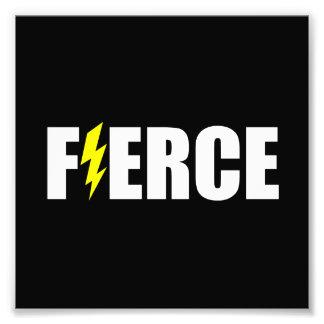 Fierce Lightening Photo Print