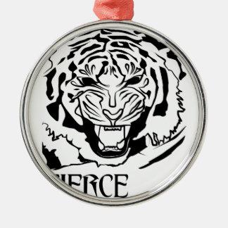fierce metal ornament