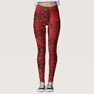 Fierce Momma Hot-Pants Leggings