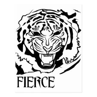 fierce postcard
