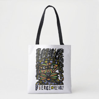 Fierce Revolt BuddaKats All- Over Tote Bag