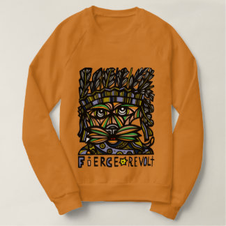 """Fierce Revolt"" Men's Raglan Sweatshirt"