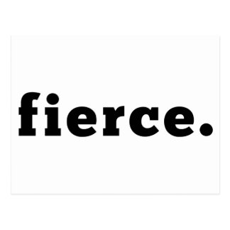 fierce | Statement Postcard