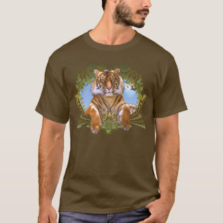 Fierce Tiger Crest Endangered T-Shirt
