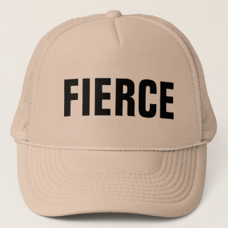 FIERCE trucker hat