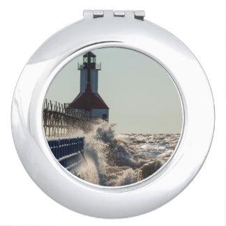Fierce Waves At St Joseph Vanity Mirrors