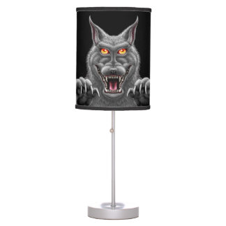 Fierce Werewolf Lamp