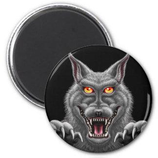 Fierce Werewolf Magnet