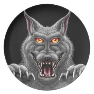 Fierce Werewolf Plate