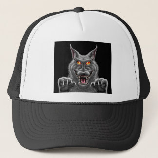 Fierce Werewolf Trucker Hat