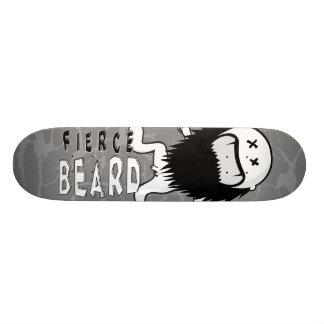 """FIERCEBEARD """"doodle"""" skateboard deck"""