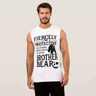 FIERCELY-PROTECTIVE-BROTHER-BEAR-2400X3200 SLEEVELESS SHIRT